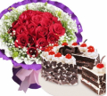 order mothers day flowers cake to cebu