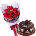 send vday roses n cake to cebu
