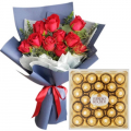 buy flowers with chocolate to cebu