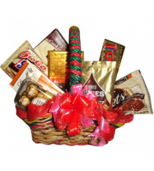Send Assorted Chocolate Combo Basket to Cebu Philippines