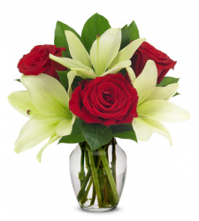 Loving Lily & Rose Bouquet