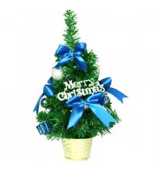 send 30cm blue mini decorated christmas Tree to cebu