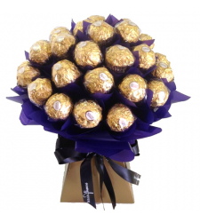 2 Dozen of Ferrero Chocolates Bouquet
