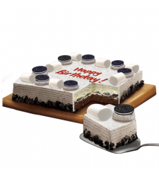 Cookies and Cream Dedication Cake by Red Ribbon