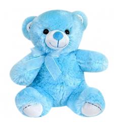"""8"""" Inch Blue Color Teddy Bear"""