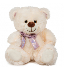 "8"" Inch Cream Color Teddy Bear"