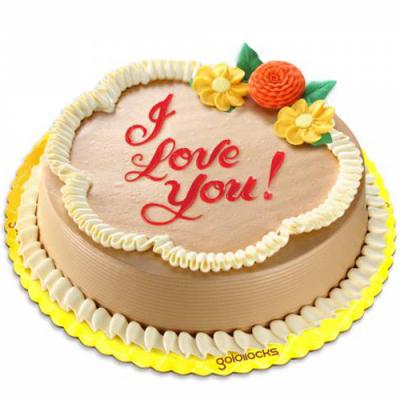 send classic mocha chiffon cake by goldilocks to cebu