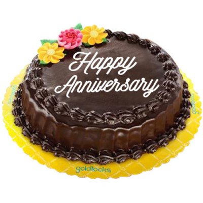 Chocolate Chiffon Anniversary Cake By Goldilocks